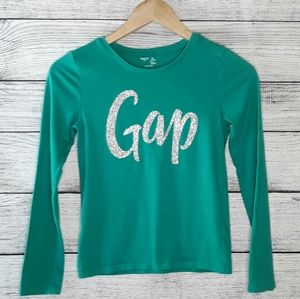 Gap Girl's Long Sleeve Top size 10 -11
